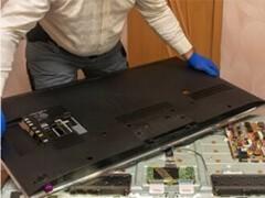 深圳龙华梅林关附近酒店KTV公司液晶电视机屏幕更换和电视维修