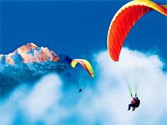 西安滑翔伞广告滑翔伞租赁