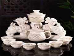 武汉许氏茶艺茶具中秋礼品茶具较佳选择订购厂家