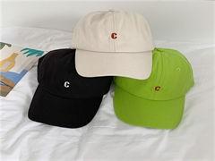 男女通用圓頂帽 休閑帽 全棉帽子 男棒球帽