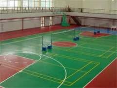 杭州羽毛球場地施工
