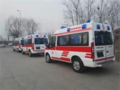 伊春120救护车送病人 私营救护车