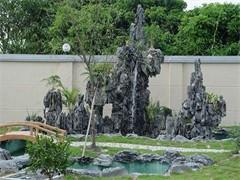 喷泉假山安装