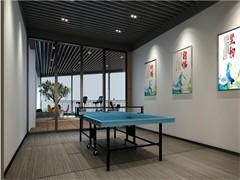 高新区科技路亚美大厦负一层狂飙乒乓球馆