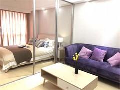 人才市场旁高级公寓 单间和床位 无押金 包水电