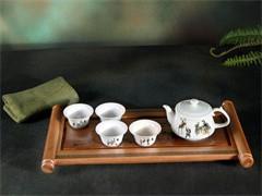 贵州茗茶文化宝石茶红色黄金珍稀植物锌硒