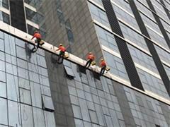 大楼外墙 大厦外壁 写字楼外墙 幕墙玻璃 清洗