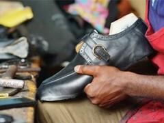 GUCCL青年男士古驰休闲皮鞋系带商务男鞋清洁护理修
