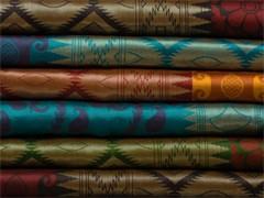 廠家直銷1.5米織錦緞錦盒工藝品包裝尼龍紡織布料雞冠花