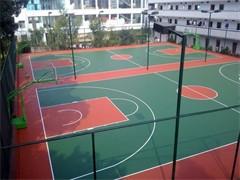 杭州籃球場地施工