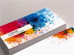 杭州滿意的名片印刷廠家-印刷包裝