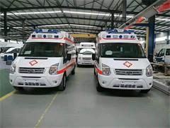 伊春长途120救护车出租接送病人包车