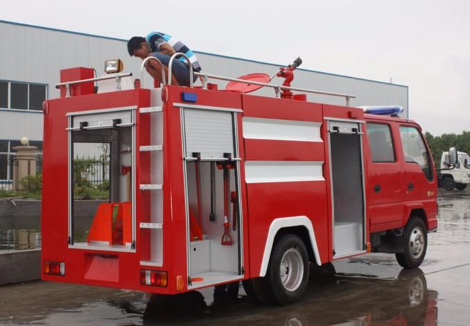 二手水罐消防车低价处理