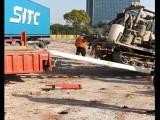 盐城大象牌3.8米农业工程机械用强度铝合金跳板