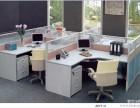 重庆厂家直销前台桌钢架桌员工桌会议桌定制办公屏风批发