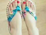 14夏季新款韩版人字拖藤编厚底夹趾坡跟女拖鞋防水台碎花凉鞋女