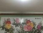 花开富贵十字绣成品