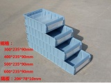 北京零件盒厂分隔式零件盒塑料盒,原料生产塑料分格零件盒