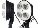 摄影器材-四联灯套装/摄影灯具柔光箱套装