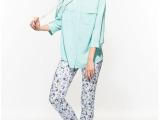 外贸原单 女装 立领衬衫(7分袖) UNIQLO优衣库 小清新
