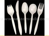 厂家供应一次性刀叉勺模具加工 刀叉模具注塑加工 刀叉模具价格