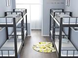 西安双层床铁架床学生员工宿舍架子床高低铁床厂家