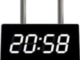 西安伟洲 供应LED电子钟 时钟屏