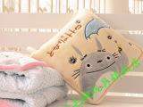 宫崎骏龙猫空调被空调毯 抱枕被 靠枕 办公午休被 超萌可爱龙猫