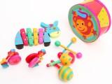 儿童早教玩具 儿童玩具 音乐 乐器玩具 敲琴 八音琴 动物音乐组