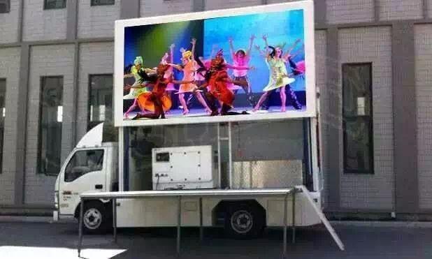 聊城LED广告车宣传车小篷车视频车租赁