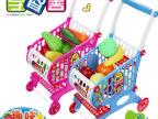 学智善 仿真购物车玩具 儿童购物车 超市小推车过家家玩具套装