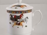 千顺陶瓷杯子创意水杯景德镇马克杯咖啡茶杯日用百货厂家批发礼品