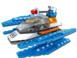 巧乐童 儿童益智拼装小颗粒积木 早教玩具 太空星际双翼战机201