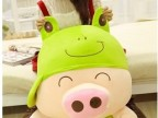 动物系列麦兜公仔大号猪猪毛绒玩具猪娃娃抱抱猪生日礼品