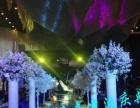 婚礼定制、舞台搭建、鲜花布置、摄影摄像、主持演出等