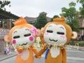 厂家直销全新吸引人气熊本熊皮卡丘卡通人偶表演服装