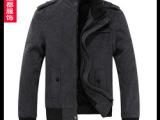 新品发布 秋冬热卖都市时尚男士夹克外套 韩版修身款潮男夹克外套