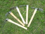 厂价直销园艺锄耙 园林花园工具 两用锄头 不锈钢耙子 农业用锄头