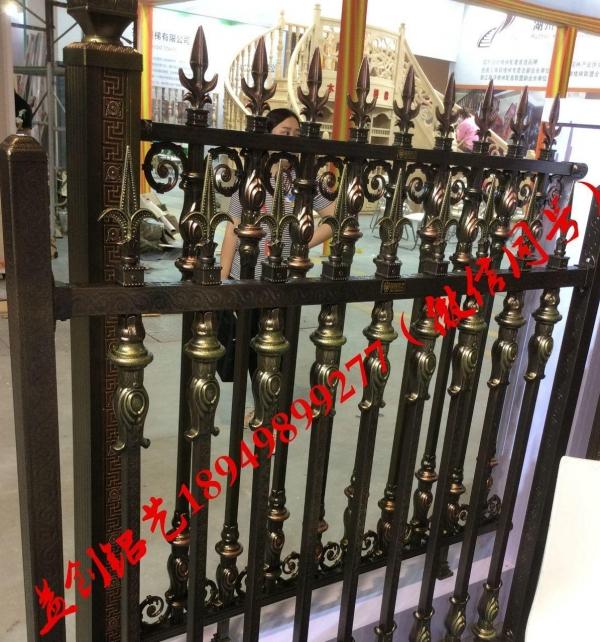 庭院门围墙栅栏 护栏铝艺围栏专业生产厂家