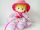 可爱无音小挂布坐娃 布娃娃 女孩玩具 洋娃娃 坐姿