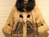 欧美时尚店女装14年品牌女装羽绒服 一二线品牌折扣服装尾货清仓