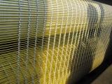 幕墙金属网装饰 电梯装饰网 隔断斜方孔古铜色中式工装装饰
