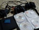索尼PS2游戏机 9成新!单手柄!31张游戏碟!记忆卡
