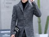 31.8块男装热销韩版毛呢外套 分码 款式多样 可实地考察
