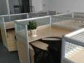 低价出售9成新拐角办公隔断桌6套