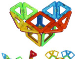 琛达正版 MAGSPACE磁力片玩具磁力建构片14片健构片 磁性