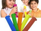 纽益思现货硅胶冰棒模具 手持冰棒模 冰淇淋模 趣味冰棒模