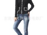 2013爆款韩版女装 毛衣开衫中长款棒针加厚加绒毛衣外套 毛衣批