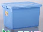 柳叶批发 滑轮塑料整理箱 超大号加厚150L 收纳储物箱盒 玩具储物