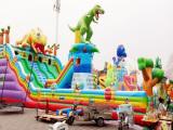 吒闹海充气儿童滑梯跳跳床百美厂家热销款图片